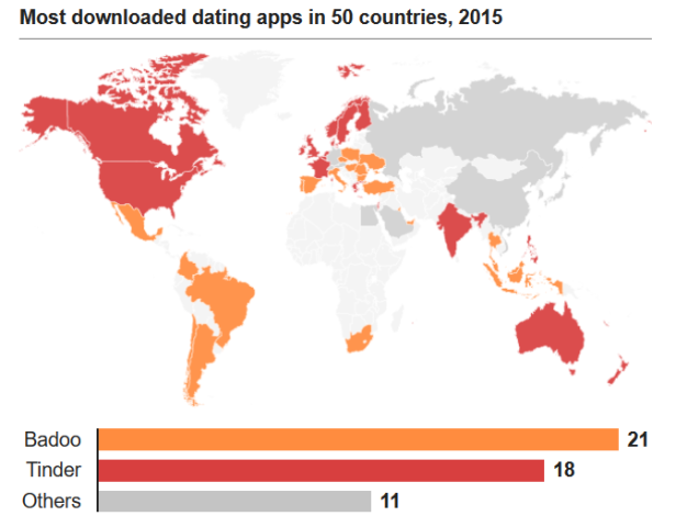 Dating App 50 Countries