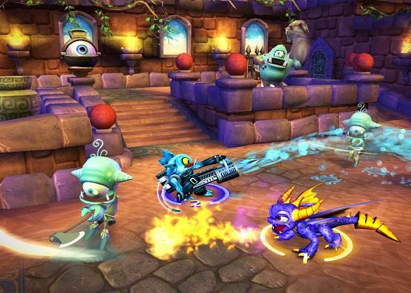 Gameplay Skylanders di Wii