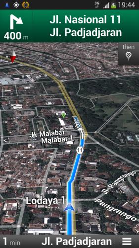 Google Maps NAvigation (5)