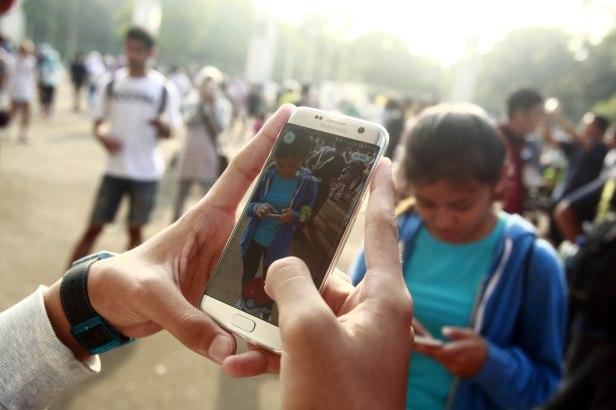 Pecinta dan Komunitas Pokemon Go Indonesia berburu Pokemon di GBK  (3)