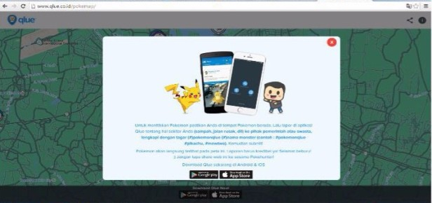 Website Pokemap 1
