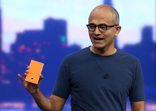Satya Nadella Delivers Opening Keynote At Microsoft Build Conference