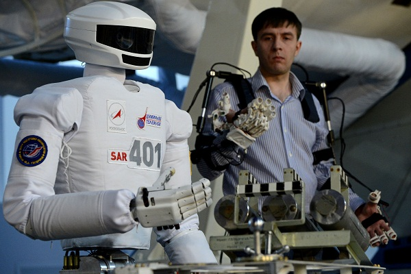 RUSSIA-SPACE-ROBOT-SCIENCE-TECHNOLOGY