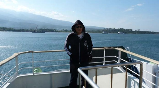 Saya di kapal feri