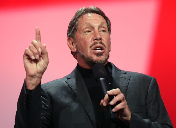 Oracle CEO Larry Ellison Speaks At Oracle OpenWorld 2012