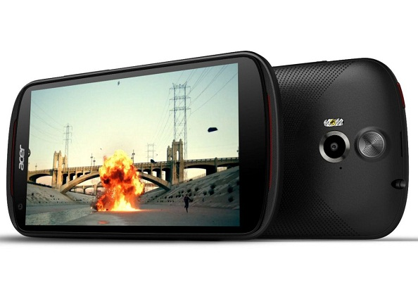Acer Liquid E2 menyasar segmen menengah.