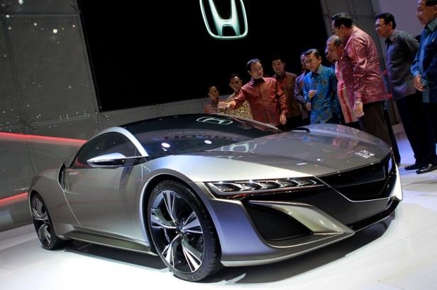 Honda NSX yang baru pertama kali diboyong ke Asia Tenggara