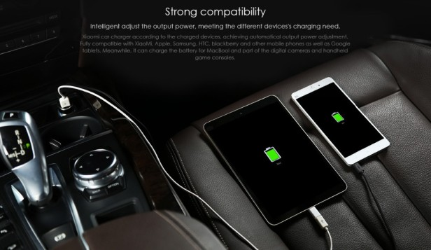 Xiaomi Mi Car Charger Dual USB Fast Charging 4