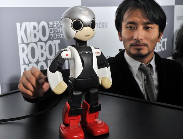 JAPAN-ROBOT-SPACE-CHRISTMAS