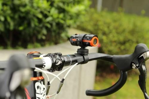 contoh aplikasi di sepeda.
