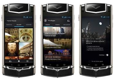 Walau masih menggunakan Android ICS (4.0), Vertu Ti memiliki UI yang sudah dimodifikasi.