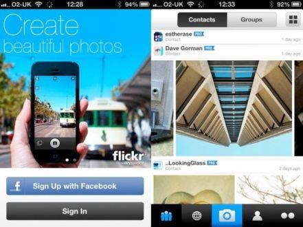 Desain baru Flickr yang lebih cantik dan user friendly.