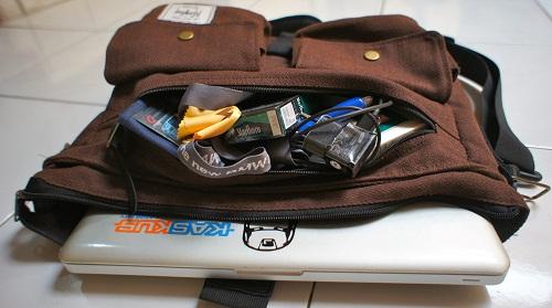 Muat untuk laptop 13 inci, kamera Sony NEX-5, dan prentilan lainnya 2