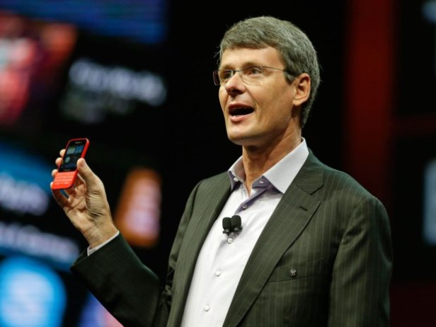CEO BlackBerry Thorsten Heins.