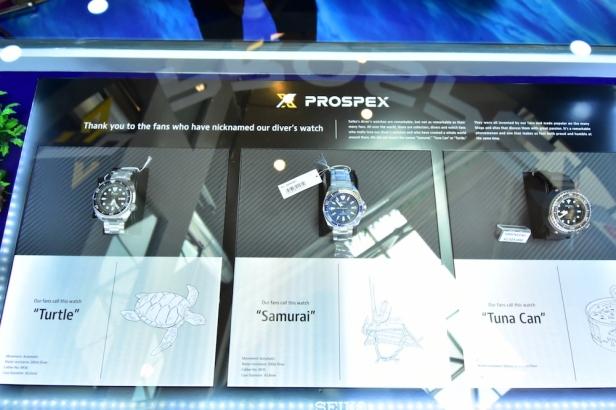 Seiko Prospex Sea Collection - Turtle, Samurai, Tuna Can