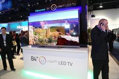 Televisi UltraHD dinilai hanya menjangkau segmen yang terbatas dalam beberapa tahun kedepan.