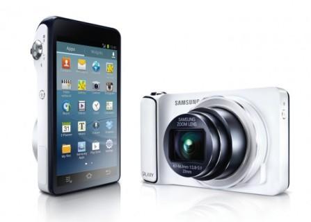 Samsung Galaxy Camera memiliki keunggulan smartphone dan kamera saku digital sekaligus.