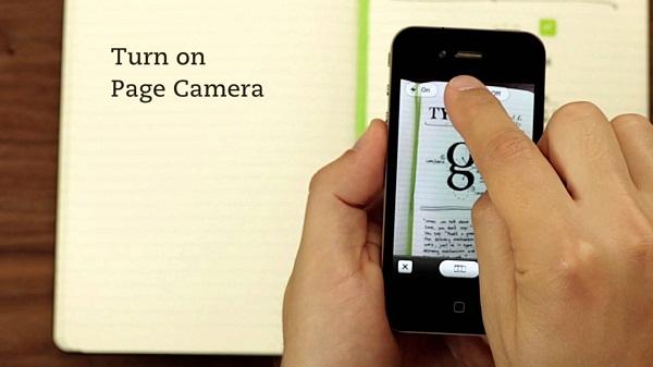 page camera