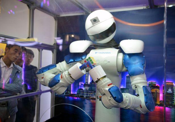 CHINA-ECONOMY-TECHNOLOGY-ROBOTS