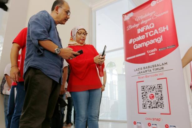 Telkomsel Digitalkan 1000 Kencleng Masjid (1)