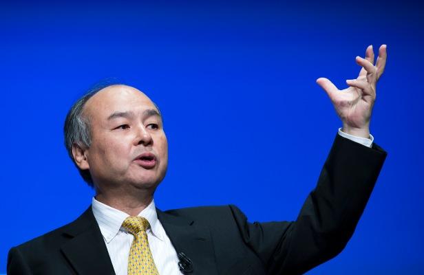Softbank CEO Masayoshi Son Press Conference