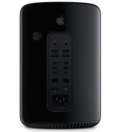 Mac Pro 2013 yang hadir dalam desain sama sekali baru.