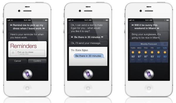 Berbagai respons yang diberikan Siri