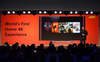 Sony adalah satu-satunya perusahaan yang memiliki kemampuan memproduksi konten 4K dan berbagai hardwarenya sekaligus.
