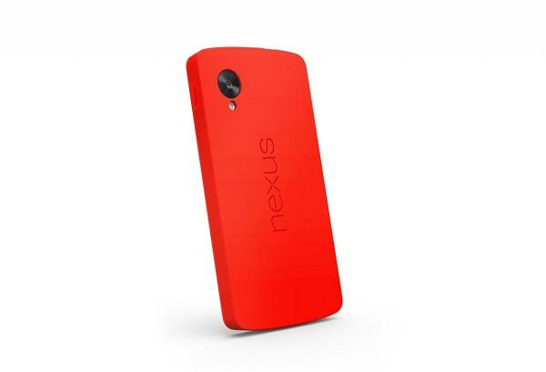 LG Nexus Red