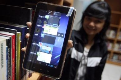 IMO Tab Z6 tablet Android yang sudah dilengkapi fitur TV.
