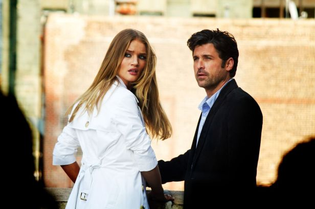 Rosie Huntington-Whiteley dan Patrick Dempsey