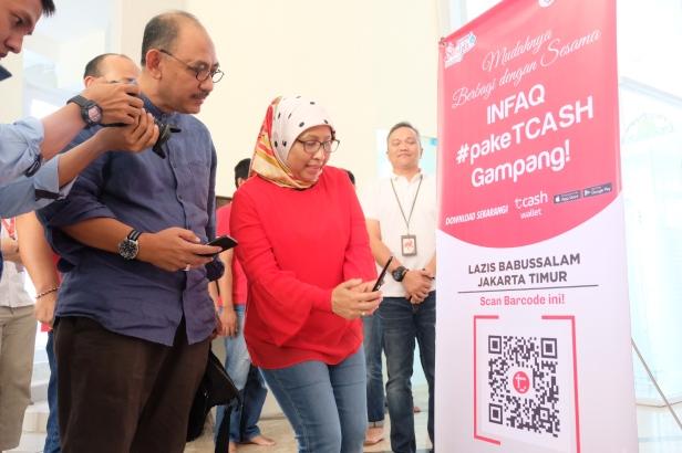 Telkomsel Digitalkan 1000 Kencleng Masjid (2)